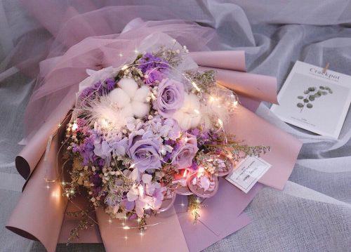 海約山盟乾花保鮮花束