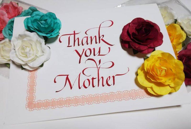 母親節禮物:愛心卡片