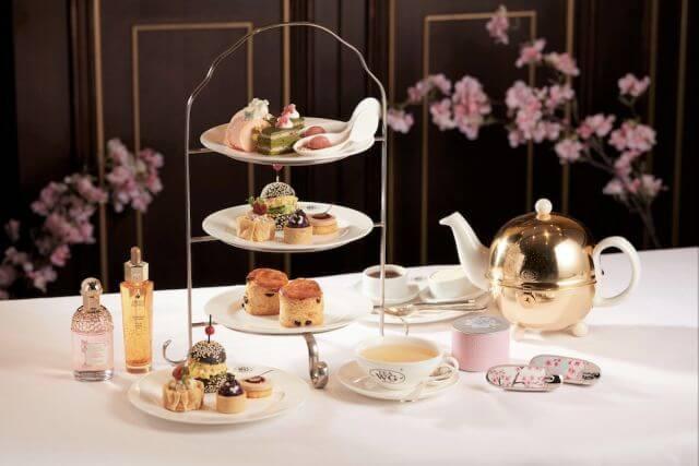 母親節禮物:TEA WG XGUERLAIN 春粉櫻花下午茶