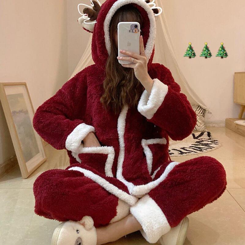 聖誕禮物13:聖誕床單、睡衣
