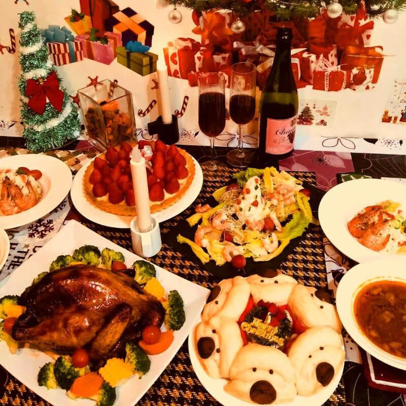 聖誕禮物 7:豐盛的聖誕大餐